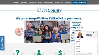 TriCounty Broadband: Internet & Cable Company in Belhaven NC