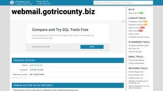 webmail.gotricounty.biz - Gotricounty Webmail | IPAddress