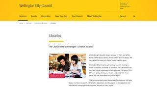 Libraries - Wellington City Council