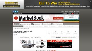 WELLS CARGO Trailers For Sale - 39 Listings   MarketBook.ca - Page ...