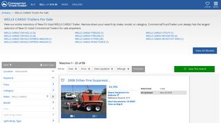 WELLS CARGO Trailers For Sale - Commercial Truck Trader