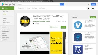 Western Union US - Send Money Transfers Quickly - Apps on Google ...