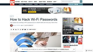 How to Hack Wi-Fi Passwords | PCMag.com