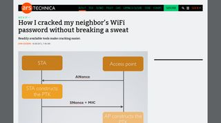 How I cracked my neighbor's WiFi password without breaking a sweat ...