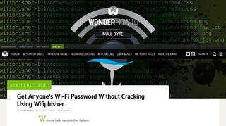 How to Hack Wi-Fi: Get Anyone's Wi-Fi Password Without Cracking ...