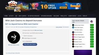 Wild Jack Casino no deposit bonus codes