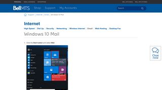Windows 10 Mail | MTS