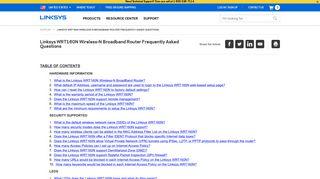 Linksys Official Support - Linksys WRT160N Wireless-N Broadband ...