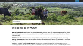 WWOOF   Live and Learn On Organic Farms