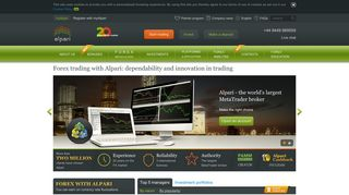Forex trading | trade Forex with international broker Alpari – learn what ...