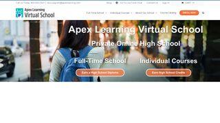 Apex Learning Virtual School: Online High School