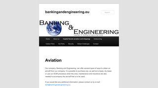 Aviation | bankingandengineering.eu