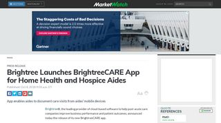 Brightree Launches BrightreeCARE App for Home Health and ...
