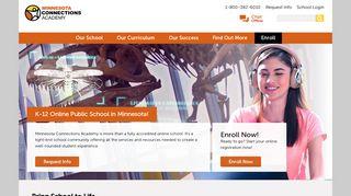 Online K-12 Public School   Minnesota Connections Academy