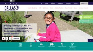 PowerSchool Log In Page - Dallas ISD