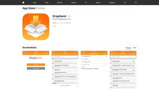 DropSend on the App Store - iTunes - Apple