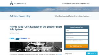 How to Take Full Advantage of the Equator Short Sale System