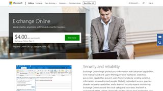 Exchange Online – Hosted Cloud Email for Business - Microsoft Office