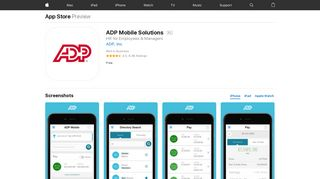 ADP Mobile Solutions on the App Store - iTunes - Apple