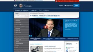 Veterans Benefits Administration Home - VA.gov