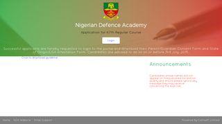 NDA Applications Registeration