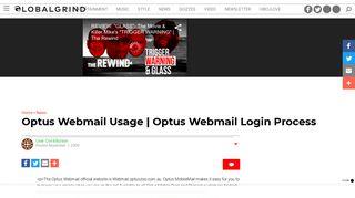 Optus Webmail Usage | Optus Webmail Login Process | Global Grind