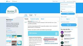 Revenue (@RevenueIE)   Twitter