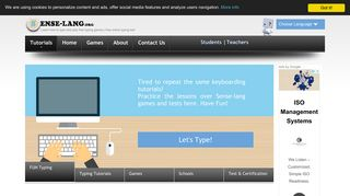 Learn how to type and play free typing games   free online typing test
