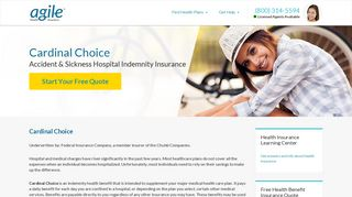 Cardinal Choice: Health Benefit Insurance - Agile Health Insurance