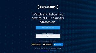 SiriusXM Streaming: Music, Sports, News, & Talk Radio