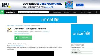 Xtream IPTV Player for Android - Free download and software reviews ...