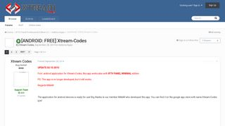 [ANDROID: FREE] Xtream-Codes - Addons/Apps - Xtream Codes