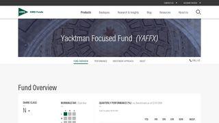 Yacktman Focused Fund (YAFFX) | AMG Funds