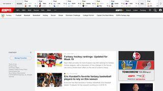 Fantasy Games - ESPN - ESPN.com