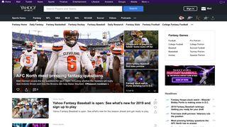 Fantasy on Yahoo! Sports - News, Scores, Standings, Rumors ...