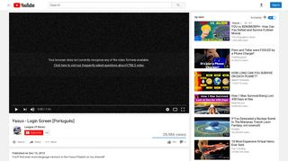 Yasuo - Login Screen [Português] - YouTube