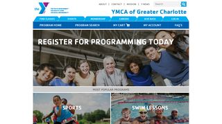 YMCA of Greater Charlotte > Home