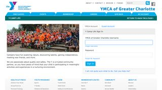 Y Camp Life - YMCA of Greater Charlotte