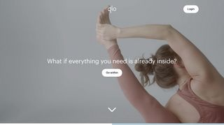 Glo   Unlimited access to yoga, meditation, and Pilates classes