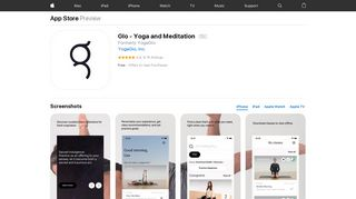 Glo - Yoga and Meditation on the App Store - iTunes - Apple