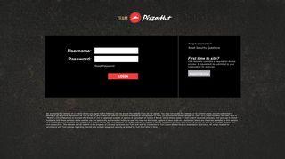 Pizza Hut Portal Login - Yum! Brands