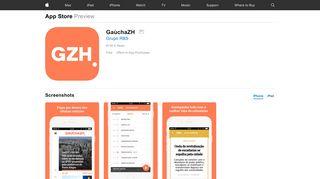 GaúchaZH on the App Store - iTunes - Apple