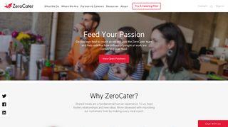 Work at ZeroCater, Corporate Catering Career Opportunities   ZeroCater