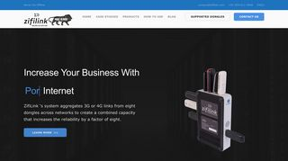 Zifilink: Internet Bonding Router   Bandwidth Aggregation Device