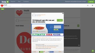 TCS Webmail Login URL Link and also all Informa... - Scoop.it
