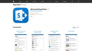 Microsoft SharePoint on the App Store - iTunes - Apple
