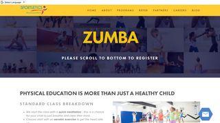 Zumba Page Template — Sportletics