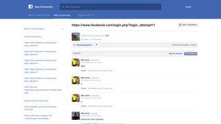 https://www.facebook.com/login.php?login_attempt=1