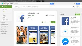 Facebook Lite – Apps on Google Play