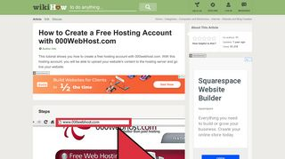 How to Create a Free Hosting Account with 000WebHost.com: 7 Steps